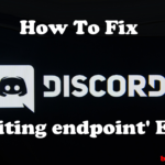 awaiting endpoint discord